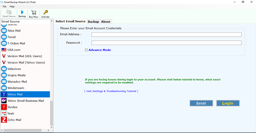 Backup Yahoo Mail to Gmail Account - Step to Step Instructions