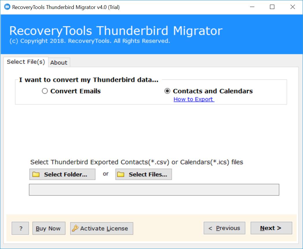 Export Thunderbird Address Book as vCard Format - Know How ?
