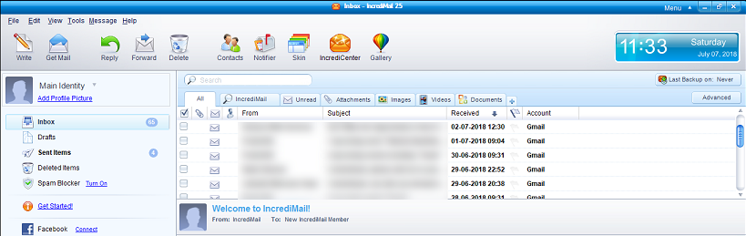 How to Import Email From IncrediMail to Thunderbird - Simple
