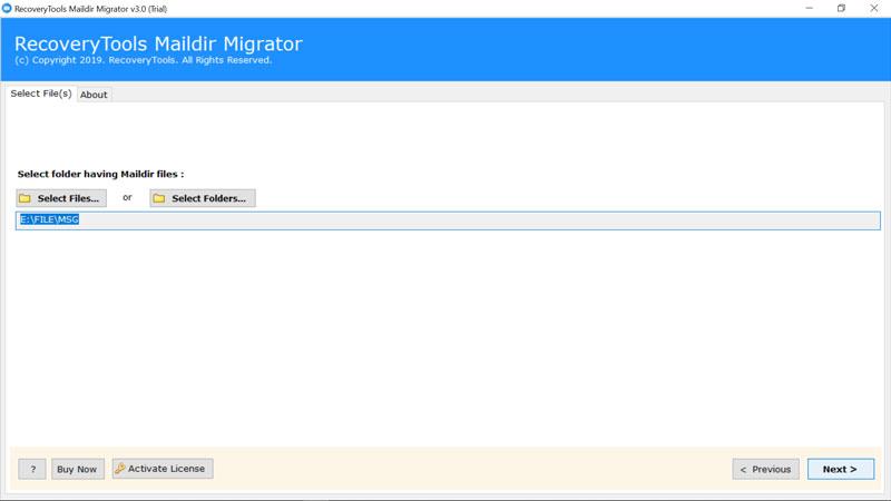 Migrate Maildir to Exchange - Convert Maildir to Hosted Exchange