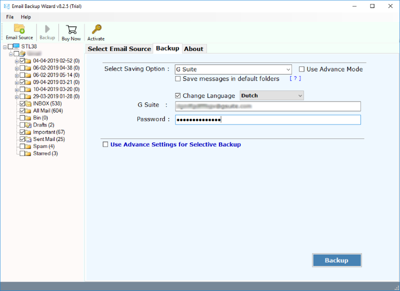 Office 365 to G Suite Migration with Attachments – Stepwise